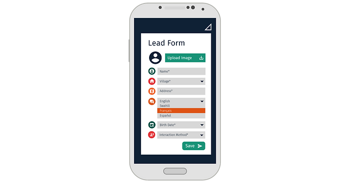 Lead Form PaygOps App
