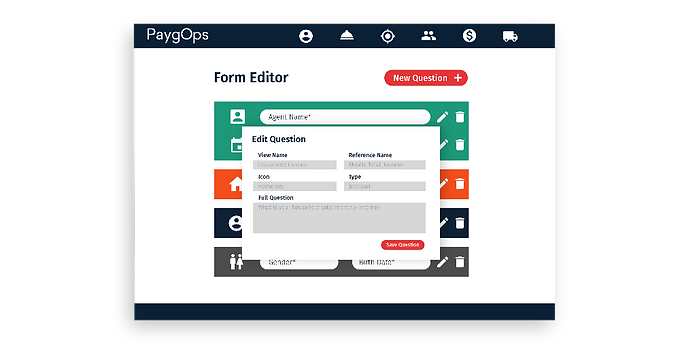 Form Editor PaygOps