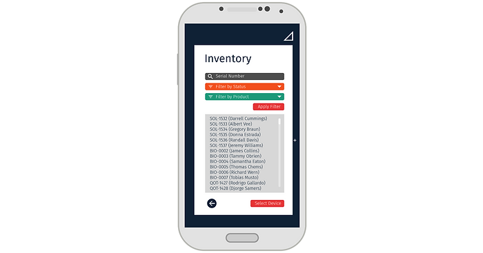 PaygOps App Inventory