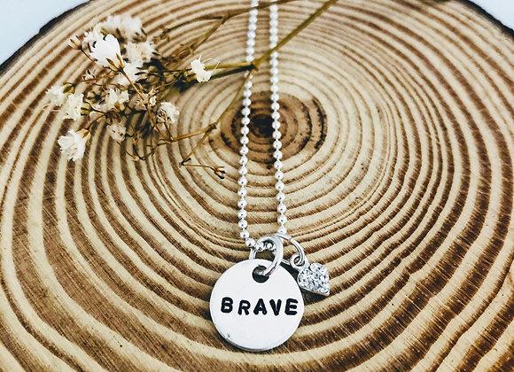 Brave Necklace.
