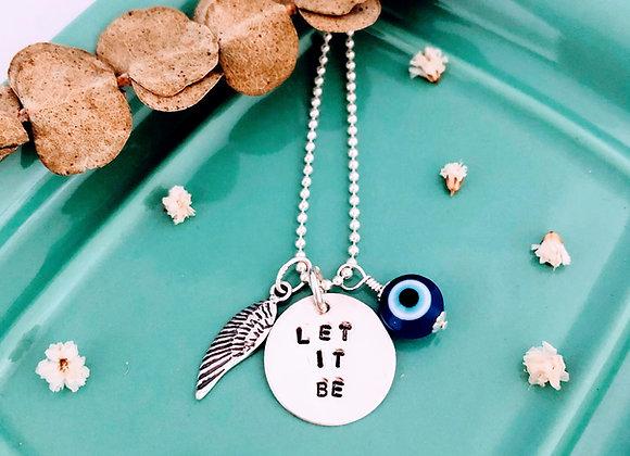 Let It Be Necklace.