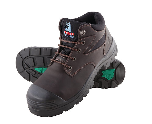 Steel Blue Whyalla S3 with Steel Midsole and Bump Cap 362108. PPE Stock Shop