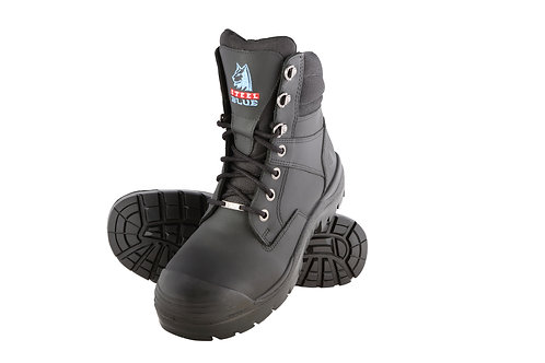 Steel Blue Southern Cross S3 (Nitrile rubber outsoles) 382360 Black. PPE Stock Shop