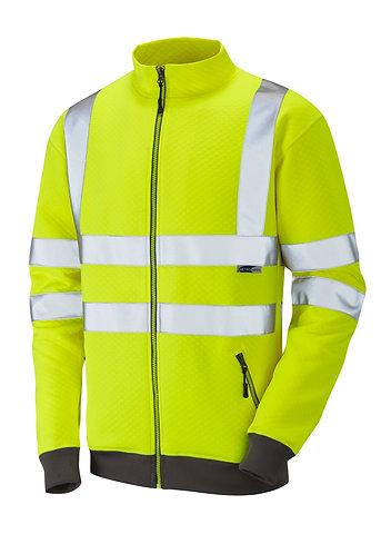 LIBBATON ISO 20471 Class 3 Track Top. Yellow. PPE Stock Shop