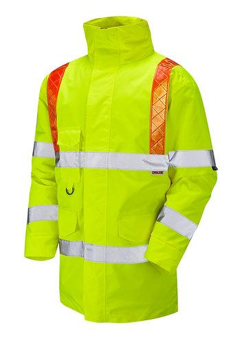PUTFORD ISO 20471 Class 3 Orange Brace Anorak