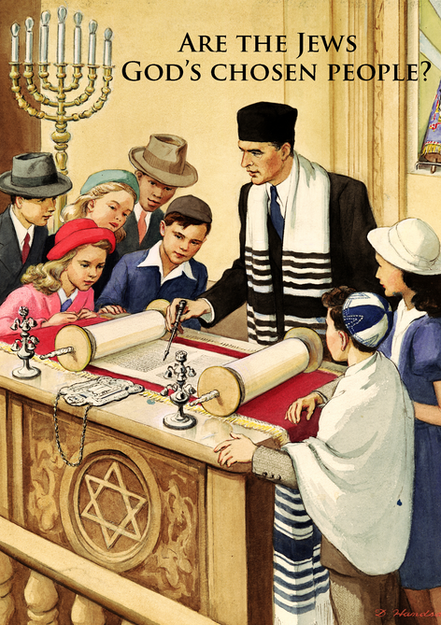 Are The Jews God's Chosen People - Print