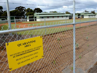 AUSTRALIA'S QUARANTINE CAMPS AND MILITARY DETENTION CENTRES