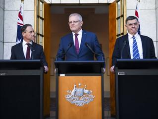 AUSTRALIAN GOVERNMENT ANNOUNCES MANDATORY COVID-19 VACCINATIONS 19/8/2020