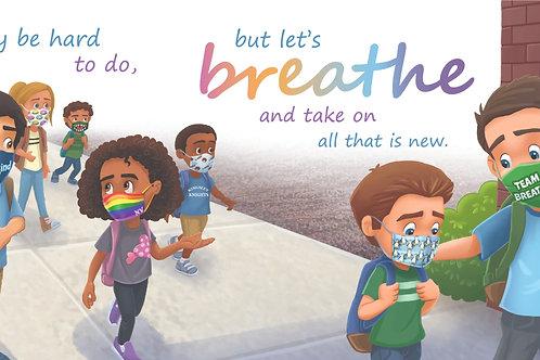 Breathe/Mask Poster
