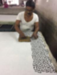 block printing jaipur india fabric