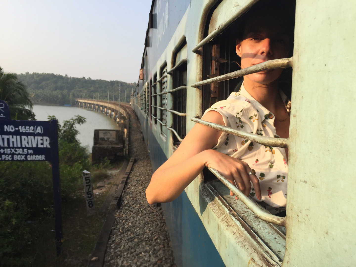train travel through southern india with tropicool medley designs