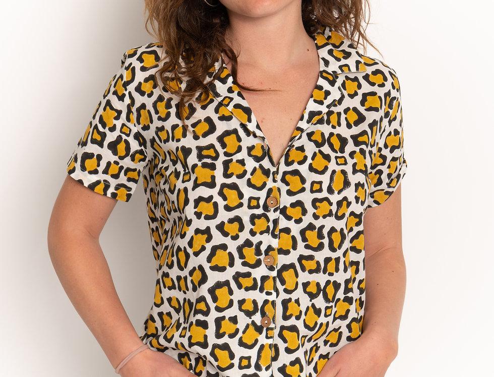 Leopard Print Short Sleeve