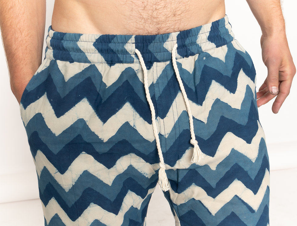 Leheria Indigo Cruizy Shorts