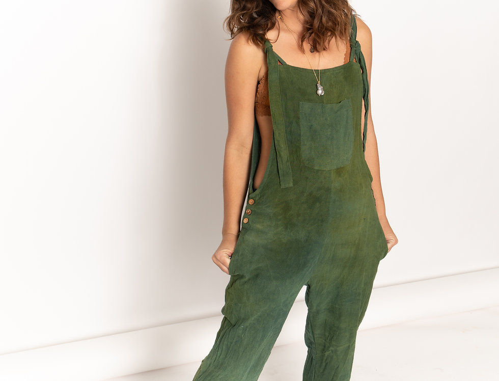 Natural Green Jumpsuit