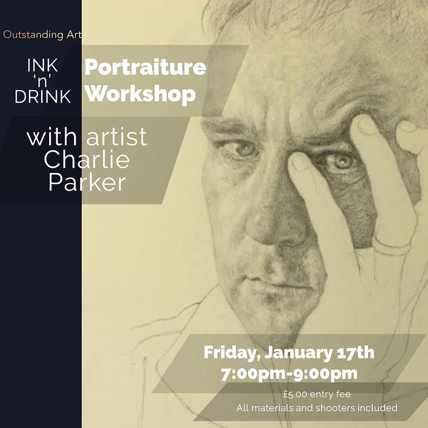 Ink 'n' Drink: Portraiture Workshop