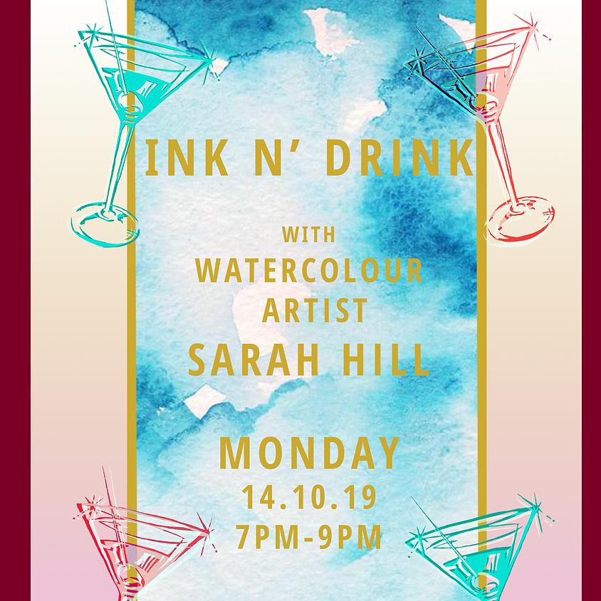 Ink N' Drink : Watercolour