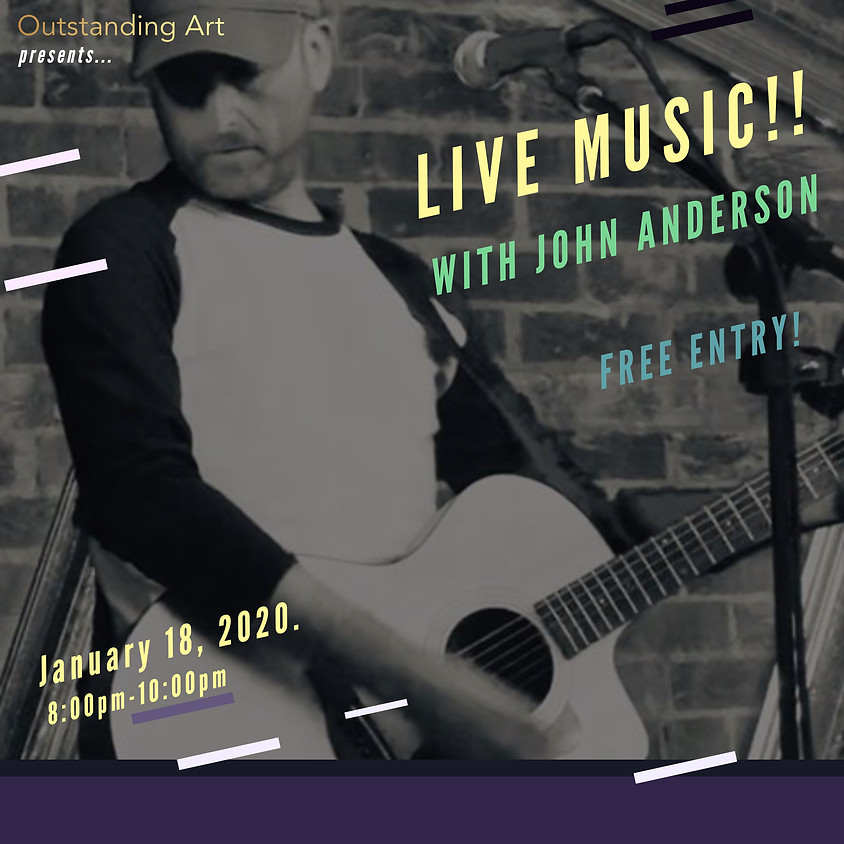 Live Music ft. John Anderson