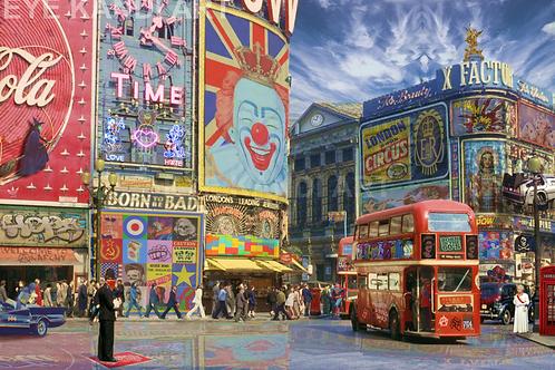 Pop goes London