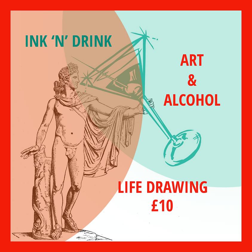 Ink N' Drink - Life Drawing