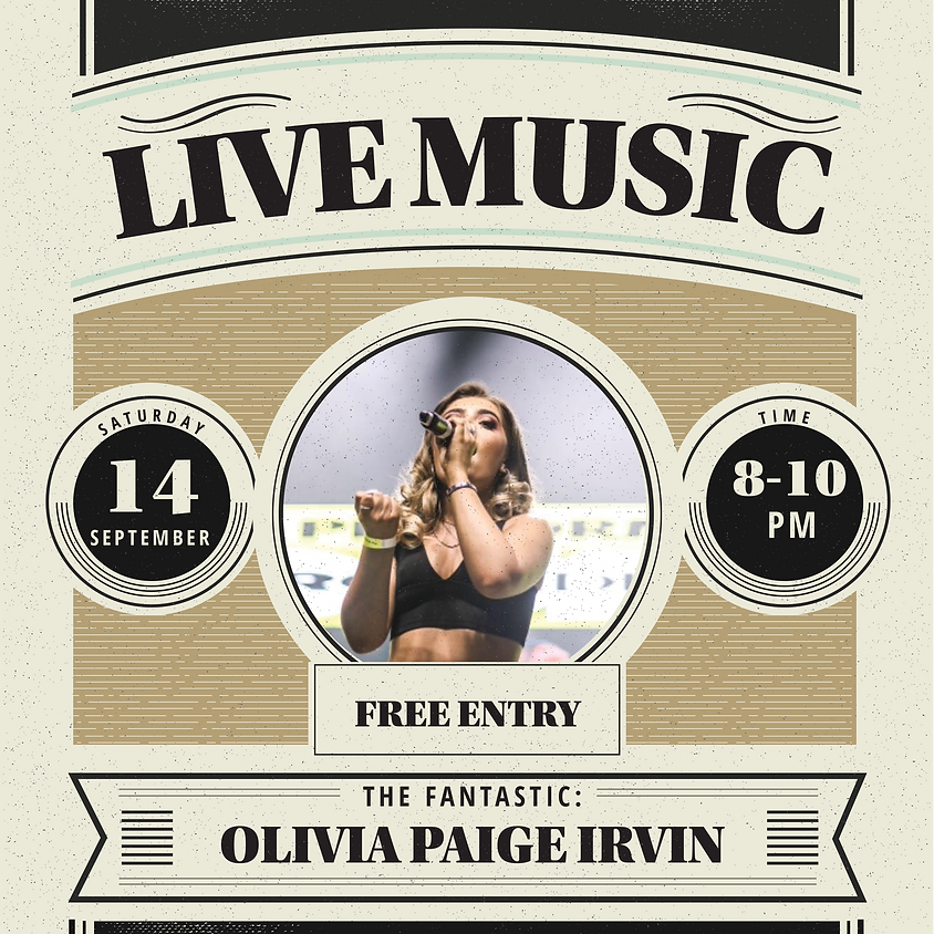 LIVE MUSIC : Olivia Irvin