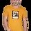 Thumbnail: Men's Cotton Mustard Graphic T-Shirt