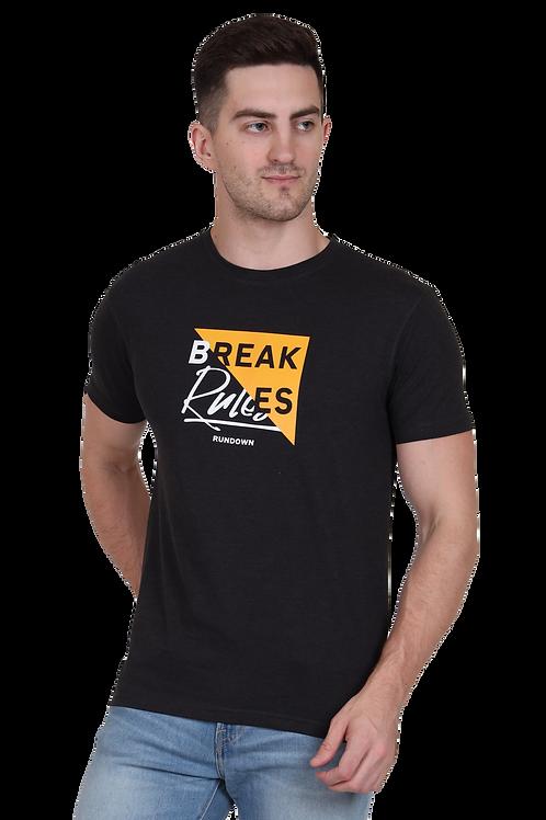 Men's Cotton Anthra Graphic T-Shirt