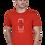 Thumbnail: Men's Cotton Rust Graphic T-Shirt