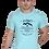 Thumbnail: Men's Cotton Aqua Graphic T-Shirt