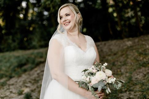 Martina war eine wunderschöne klassische Braut