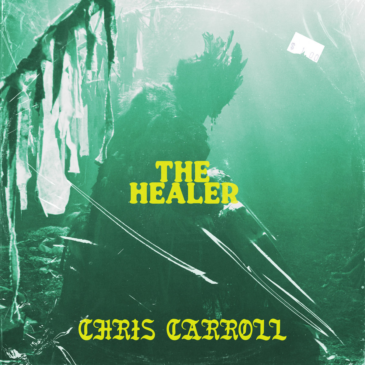 "Chris Carroll-""The Healer"" Single, 2020. Self-Released by Raindrop Sound."