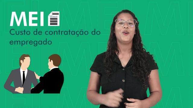 MEI - CUSTO DE CONTRATAÇÃO DO EMPREGADO.