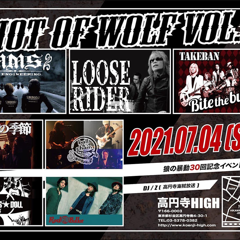 RIOT OF WOLF VOL.30