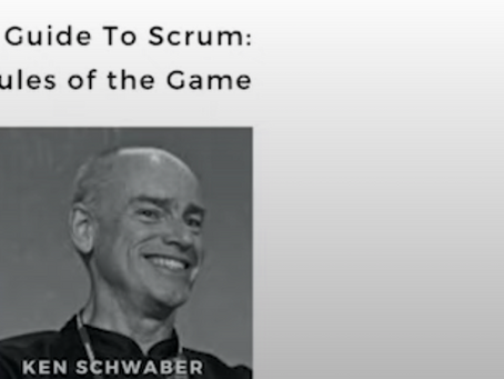 Englanninkielinen The Scrum Guide 2020 julkaistu