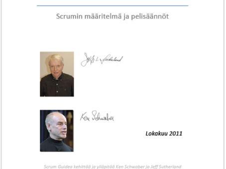 Suomenkielinen Scrum Guide