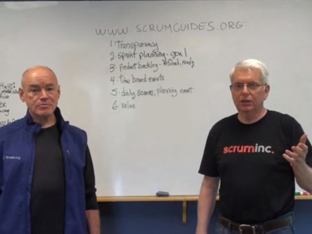 Scrum Guiden 2013 muutokset