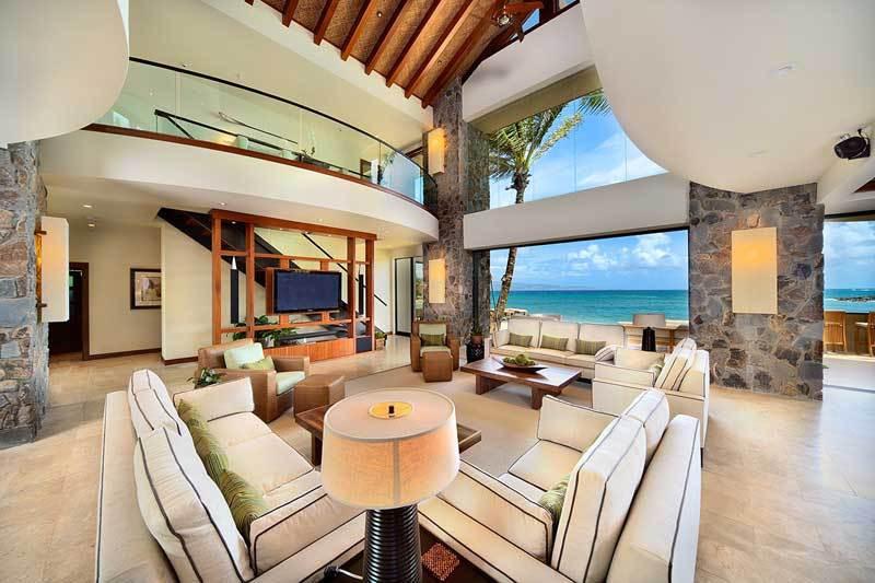 6,500 S.F. oceanfront estate - Maui