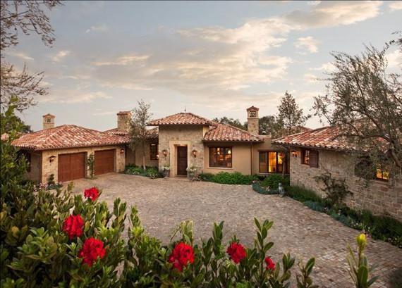 7,000 S.F. hillside estate, Montecito