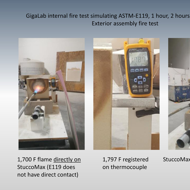GigaLab Fire Testing 2