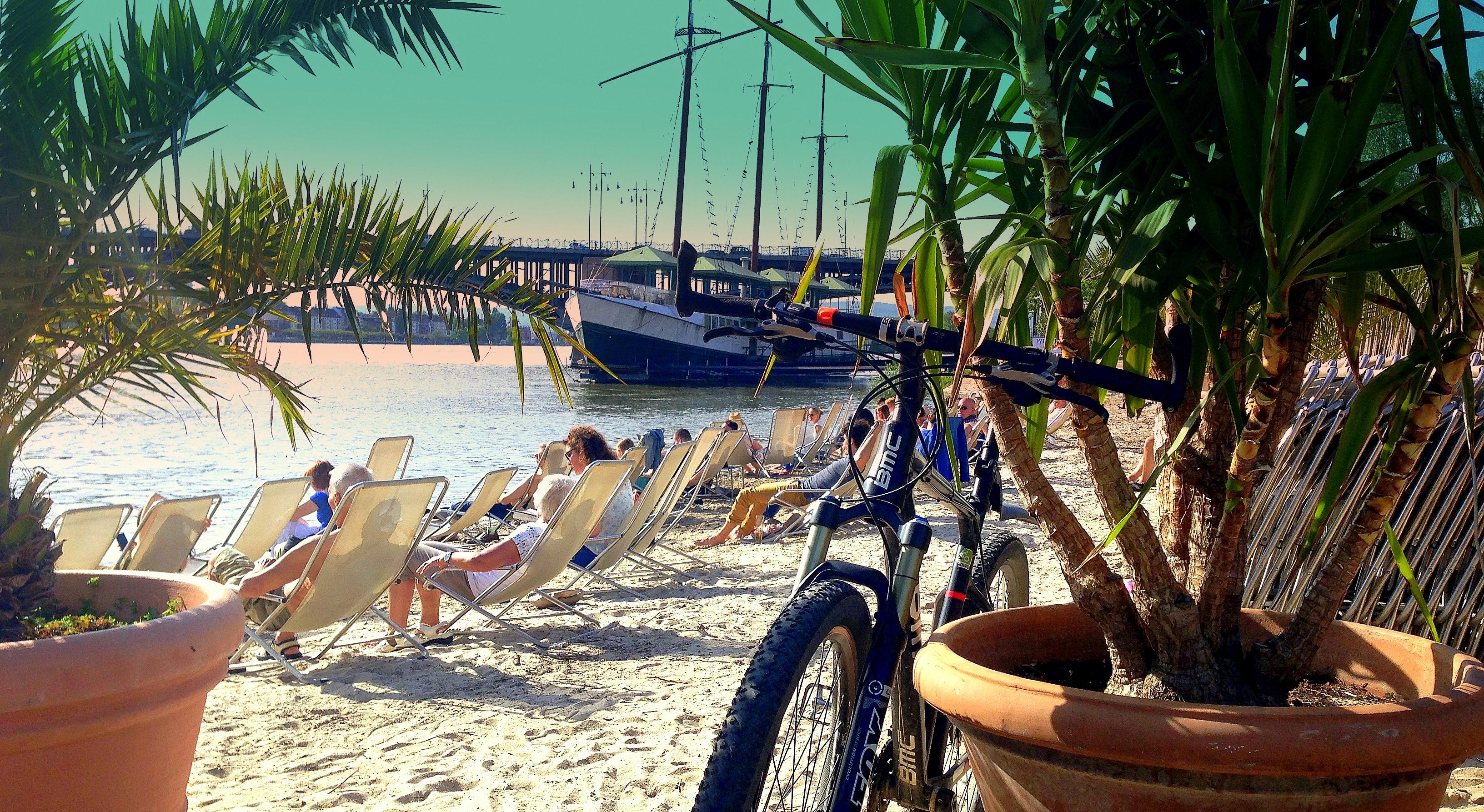 Beach life just around the corner