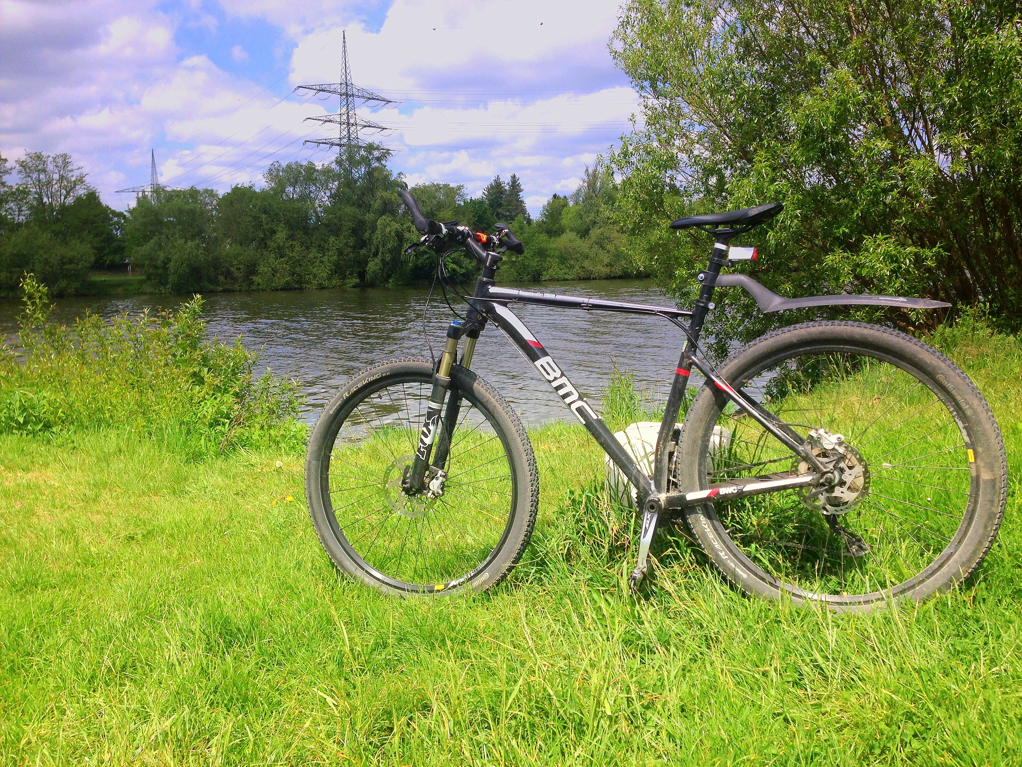 Main riverbank trail