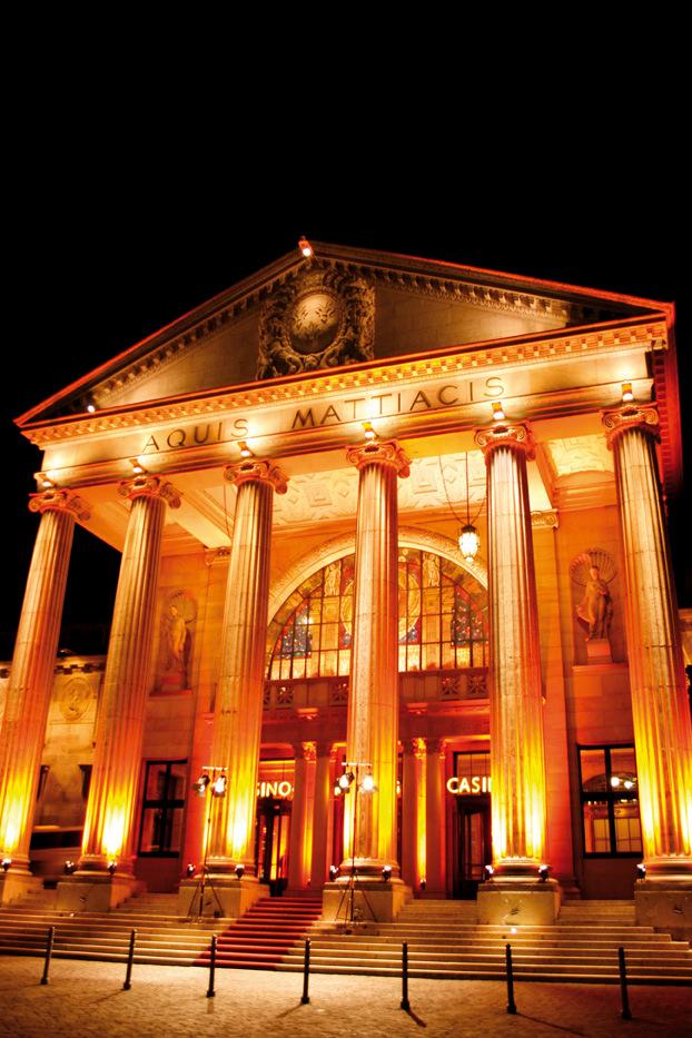 Casino Wiesbaden - Main entrance