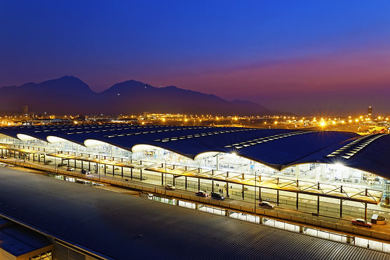 Hong Kong International Airport at the e