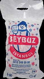 Beybuz 2 kg Poşet Buz
