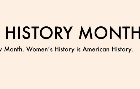 Women's History Month Banner 2