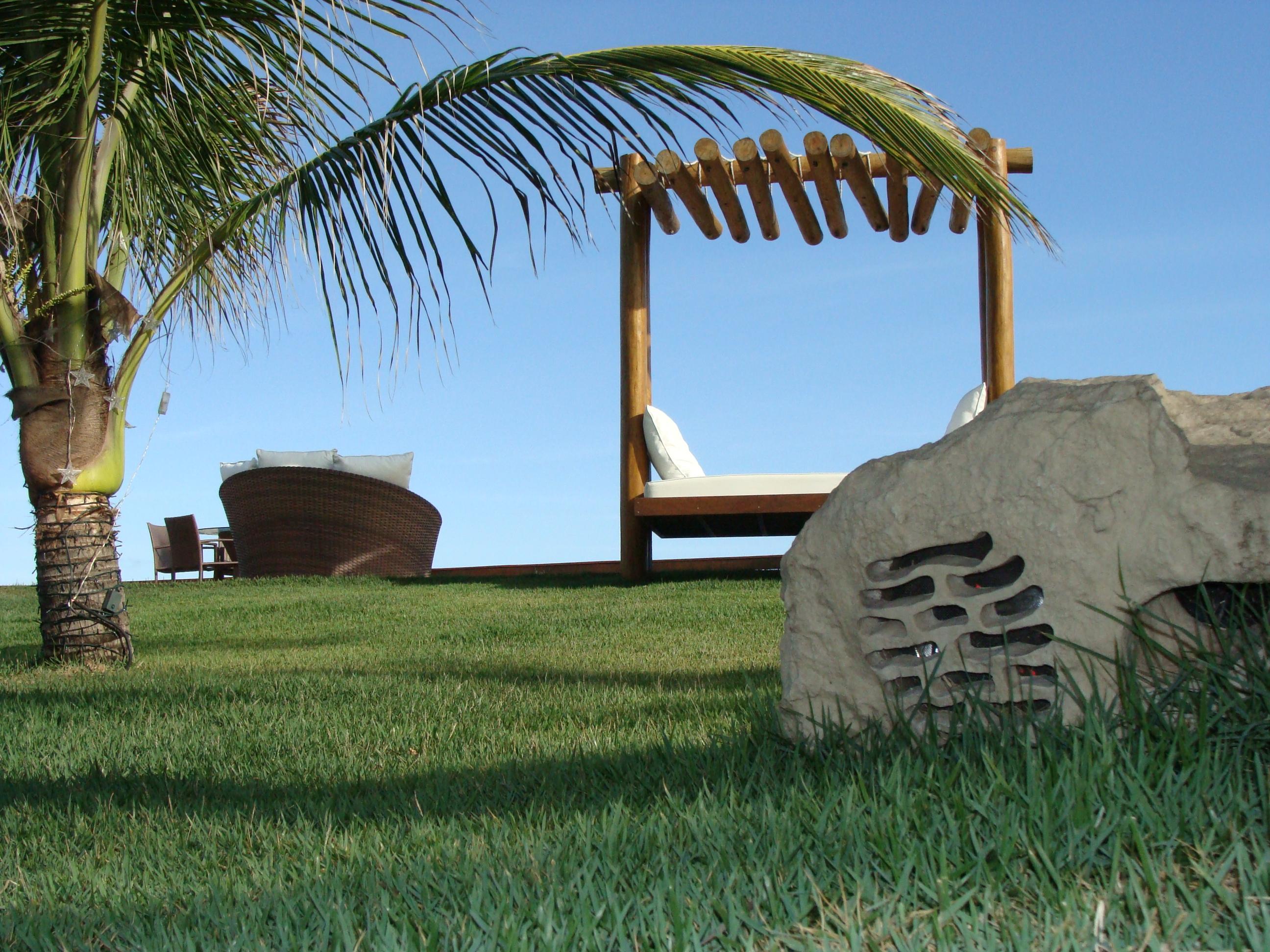 Area de piscina - casa de praia