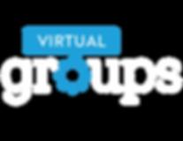 Virtual Group Font WHITE Treat MAIN LOGO