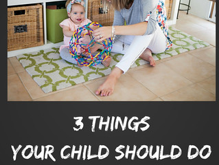 Talking Tots Tips: 3 things your little one should be able to do BEFORE they start speaking