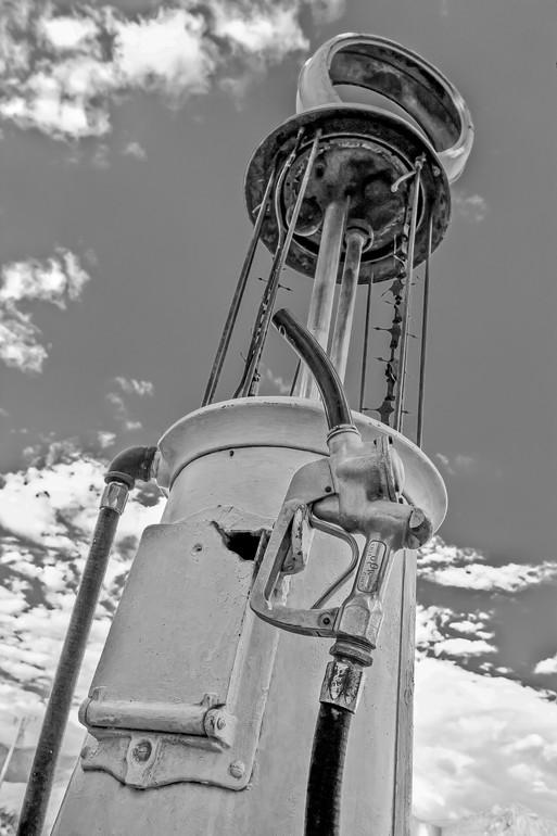 Yale Gurney, Old Gasoline Pump, 2011-2014