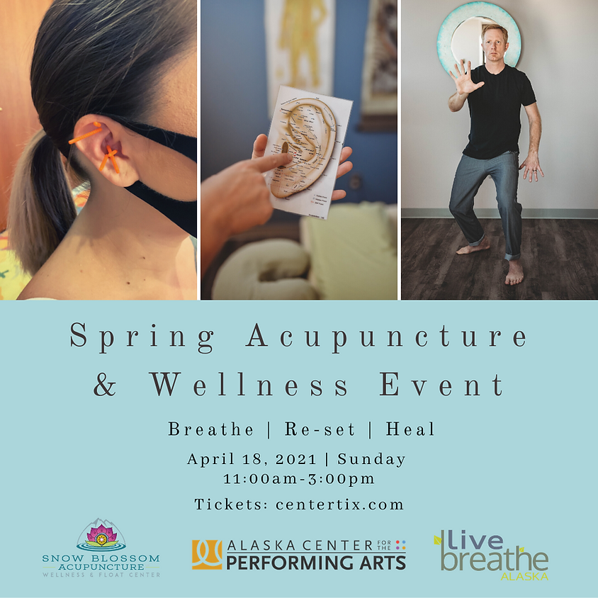 Spring Acupuncture & Wellness Event