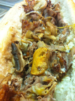 Cheesesteak w/ Mushrooms